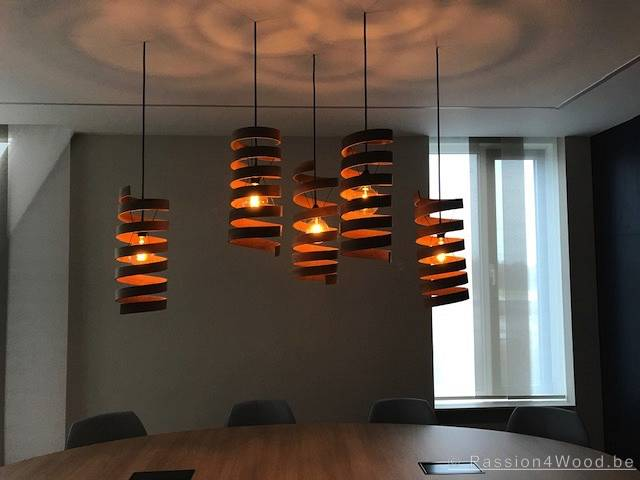 Twister - oak steambended lamps - passion 4 wood