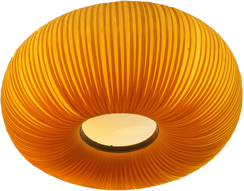 Pavieljoentje Honey Dip and Wall Lotus lamp in restaurant paviljoen - tulip wood.jpg