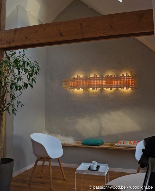 Passion 4 wood wave houten wandlampen verlichting in for Freaky bedroom ideas