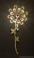 Ipaki wall flower lighting passion 4 wood